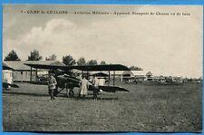 CPA: Camp de Chalons - Aviation Militaire - Appareil Nieuport de Chasse / 1924