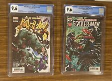 MILES MORALES #13 ~ Lot of 2 CGC 9.6s, A & B 1st appearance of Billie Morales!