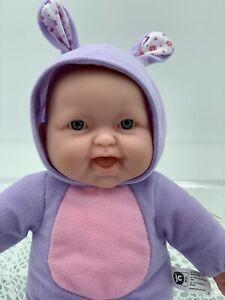 Berenguer Life Like Baby Doll, Dressed, Rabbit, Bear, 30cm Tall, 12' As New #8