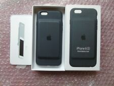 Genuine Official Apple iPhone 6/6s Smart Battery Case Charger Case Charcoal Grey