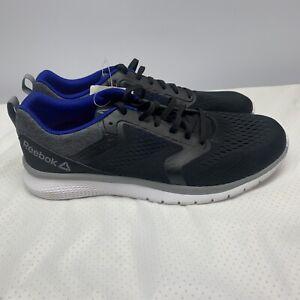 Mens Reebok PT Prime Run 3.0 - Black/Cobalt Blue -Size 10.5