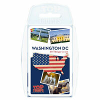 Top Trumps Card Game Washington DC
