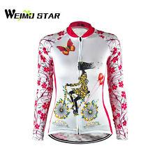 Long Sleeve Summer Autumn Cycling Jerseys women Team Bike Sports Clothing Top