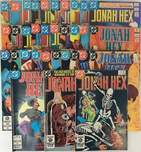 DC Comics Jonah Hex Jonah Hex 1st Series Collection - 33 Issues! VG+