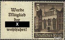 Deutsches Reich W148 mit Falz 1940 Bauwerke