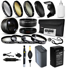 Battery Charger Accessories 55mm Filters for Sony A57 A58 A65 A77 II A99 A100