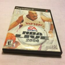 NBA LIVE 2004 - Playstation 2 Video Game Rated E - PS2 Complete Free Shipping