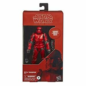 Star Wars The Black Series Carbonized Collection Sith Trooper Toy 6-Inch Scale