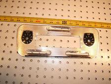 Jaguar XJ6 Series 1 AC / heater climate control Central SILVER metal OEM 1 Panel