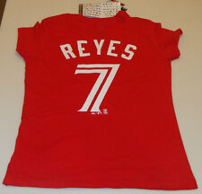 2014 Toronto Blue Jays MLB Baseball T Shirt S Canada Day Jose Reyes Ladies