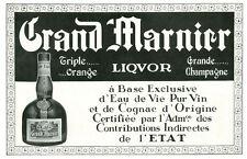 Publicité ancienne liqueur Grand Marnier 1935