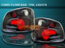 2001-2003 FORD F150 F-150 FLARESIDE CARBON FIBER TAIL LIGHTS 2001 2002 2003