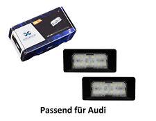 2 x Premium LED Kennzeichenbeleuchtung Kennzeichenleuchten für Audi KB15