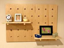 Modern Pegboard Display, Custom Wood Wall Orgainizer