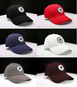 """NWT CONVERSE """"ALL STAR CHUCK TAYLOR PATCH EDITION"""" BASEBALL / GOLF CAP ONE SIZE"""