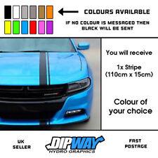 1x Car Stripe - Universal Racing Car Van Side Bonnet Stripes Vinyl Sticker Decal