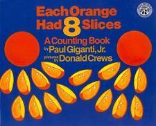 Big Books: Each Orange Had 8 Slices Big Book by Paul Giganti (1994,...
