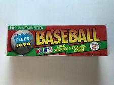 1990 Fleer Baseball Card Sealed Factory Set