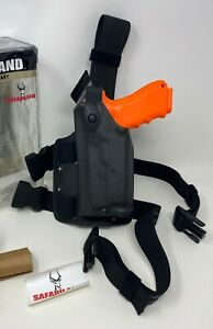 Safariland® 6004 SLS™ Tactical STX LH Leg LEFT Holster, GLOCK 19 23 32 w/ LIGHT