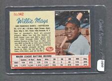 1962 Post #142 Willie Mays (Giants) (OF10)  Vg-Ex  (Flat Rate Ship)