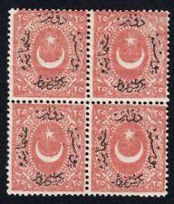 Turkey 1869 block of stamps Mi#18A MNH CV=480€