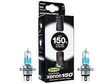 Ring Xenon150 Premium H4 12v Car 150% Brighter Upgrade Headlight Headlamp RW1572