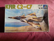 Maquette Italeri 1/72 KFIR C2-C7 complète dans sa boite d'origine