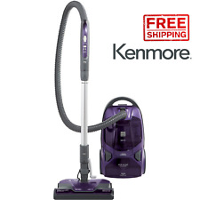 Kenmore 81614 600 Series Bagged Canister Vacuum w/ Pet PowerMate - Purple