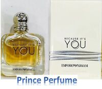 EMPORIO ARMANI BECAUSE IT'S YOU EDP VAPO NATURAL SPRAY - 50 ml
