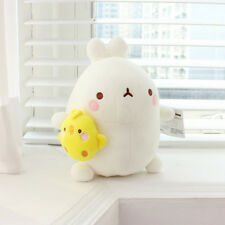 "Molang & Piu Piu 10"" Cute Plush Stuffed Soft Doll Kid Girl Gift Anime Toy"