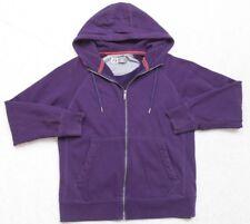 Russell Athletic Purple Cotton Poly Hooded Sweatshirt Long Sleeve Solid Medium