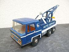 Camion AUTO SERVICE tole JOUSTRA années 60-70 dépanneur garagiste