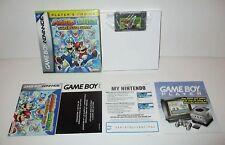Mario & Luigi Superstar Saga Nintendo Game Boy Advance GBA Complete In Box CIB