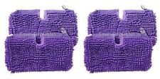 Shark Steam Mop Pocket Cleaning Coral Pads Covers S3501 S3502 S3601 - 4 Pack