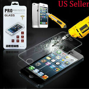 High Quality Premium Temper Glass Screen Protector Film for Apple IPhone 5 5S 5C