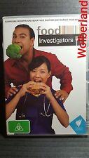 Food Investigators [2 DVD Set] LIKE NEW, Region 4, FREE NEXT DAY POST......9677
