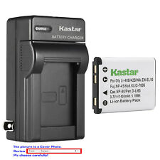 Kastar Battery Wall Charger for Olympus Li-40B Li42B Li-40C Olympus D-720 Camera