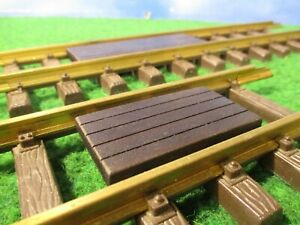 LGB Wood Walkway Inserts for LGB Tracks  5 pcs.