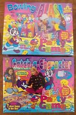 2 New Lisa Frank Party Games Catch a Character & Bowling Blast Rare NRFB Sealed