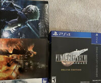 NO GAME Final Fantasy VII Remake Deluxe Edition BOX Steelbook Artbook Soundtrack