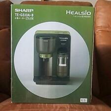 SHARP HEALSIO Tea Presso Black TE-GS10A-B Ocha Green tea