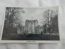 postcard sized print - Glamis Castle Angus