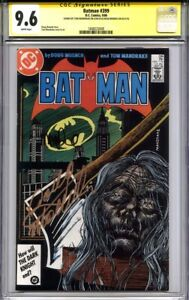 BATMAN #399 CGC 9.6 SS DOUG MOENCH & TOM MANDRAKE (classic cover)