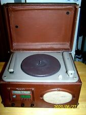 Vtg.1946 Wilcox Gay Re 00004000 Cordio 6B10 Am Radio Record Lathe Player Tube Amp ~Works