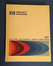 Hewlett Packard Hp Test Equipment Catalog 1987