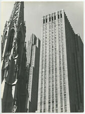 ROCKEFELLER CENTER BUILDINGS IN NEW YORK CITY, VINTAGE PHOTO REPRINT ONLY