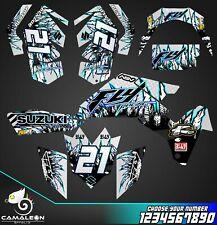 Suzuki LTR 450 ATV stickers decals graphics kit 2006-2014