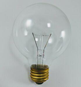 "25W Clear Vanity 3"" Globe Incandescent Light Bulb Medium Base 6 pack G25 03118"