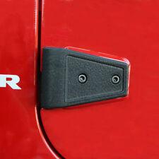 Jeep Wrangler Jk 07-17 Black Door Hinge Covers 4 Door  X 11202.05