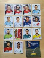Lot 14 Sticker Panini football FIFA WORLD CUP Russia  2018 coupe du monde Russie